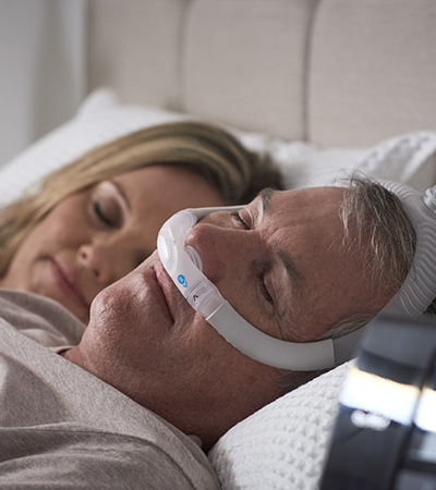AirFit-P30i-rør-up-nese-puter-CPAP-maske-søvn apnea-pasient