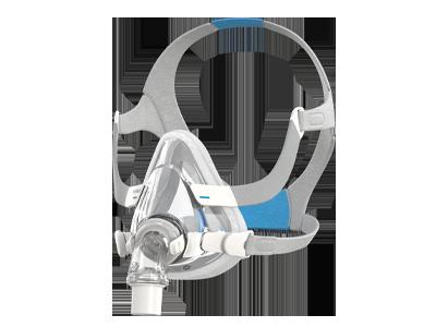 AirTouch-F20-komfortabel-heldekkende ansiktsmaske-for-puste-terapi-ResMed