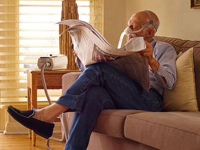 KOLS-pasient-behandling-hjemme-ikke-invasiv-ventilasjon