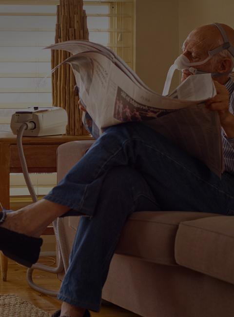 ResMed-KOLS-pasient-ventilasjon-invasiv-hjem-mobil