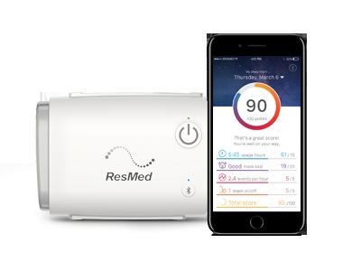 AirMini App-terapidata følger opp ResMed