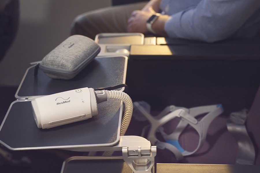 airmini-CPAP-maskin-reise