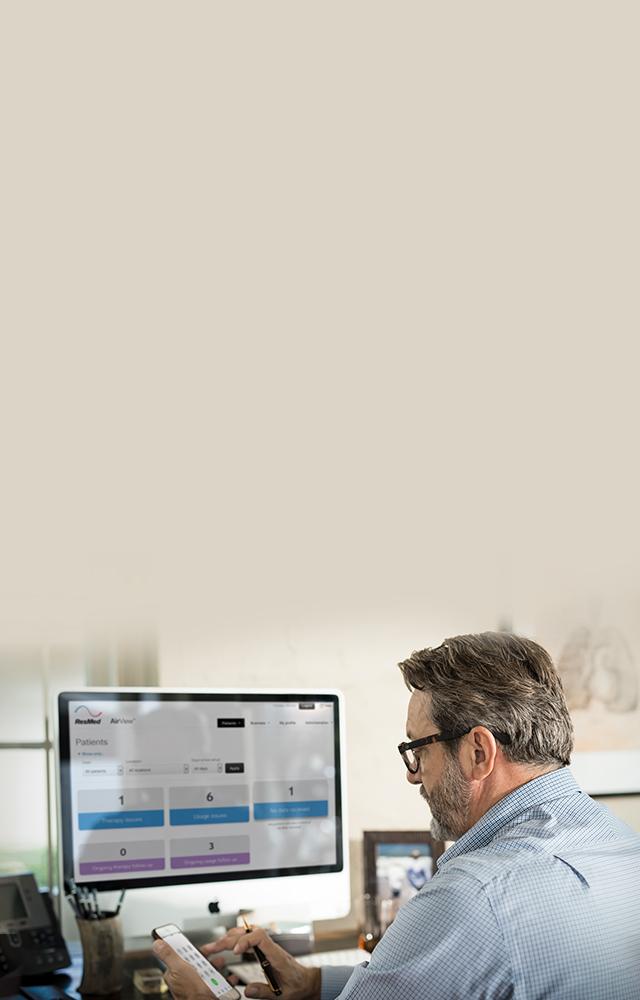 Airview-pasient-data-ledelse-programvare-action-grupper-resmed-mobil