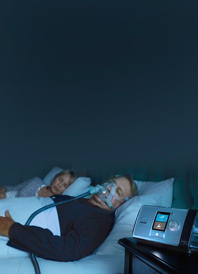 Lumis-invasiv ventilasjons-pasient-resmed-mobil