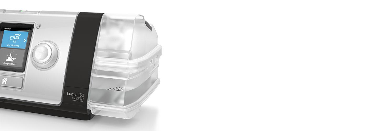 RESMED-Lumis-invasiv-ventilasjon befuktning