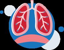 ventilasjons-normal-puste-lunge-illustrasjon